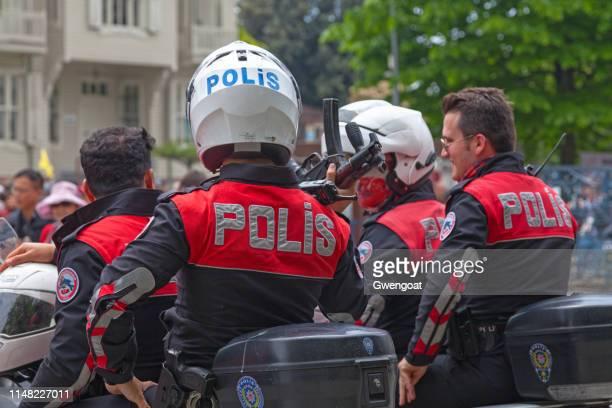 Turkish motorcycle police (Motosikletli polis)