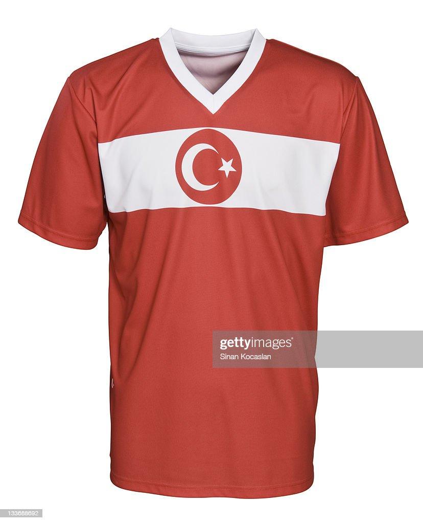 Turkish National Football Team's Uniform : Stock Photo