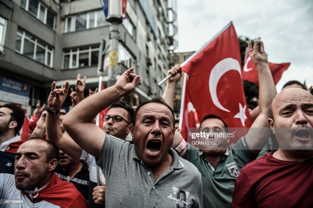 TURKEY-KURDS-CONFLICT-DEMO : News Photo
