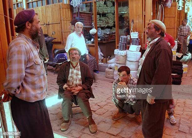CONTENT] Turkish Peasants at the Coppersmiths Bazaar in Gaziantep Turkey