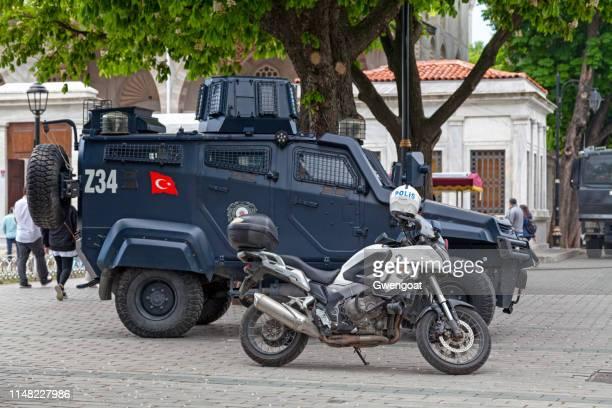 Turkish police armored vehicle
