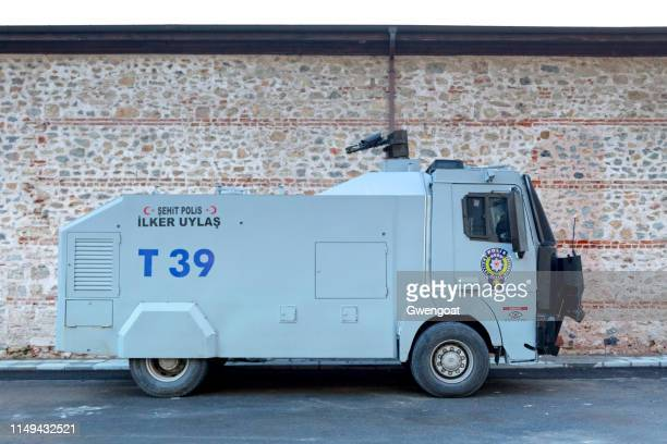 Turkish police armored water cannon