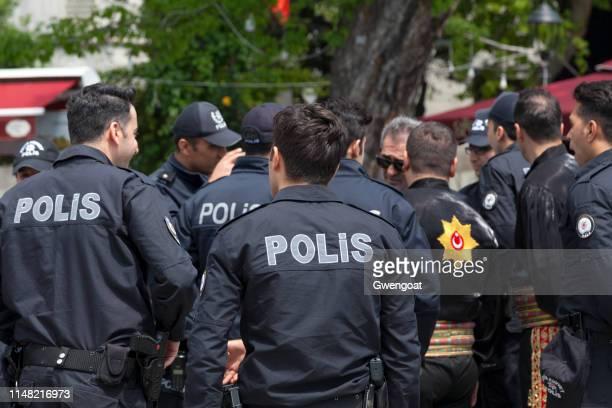 Turkish policemen
