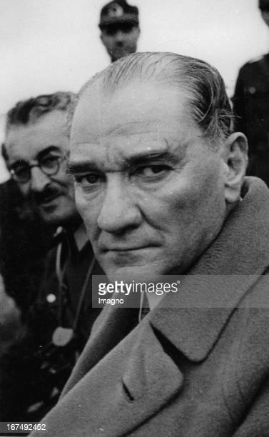 Turkish politician and the first President of the Republic of Turkey Mustafa Kemal Ataturk About 1936 Photograph Der türkische Politiker und erster...