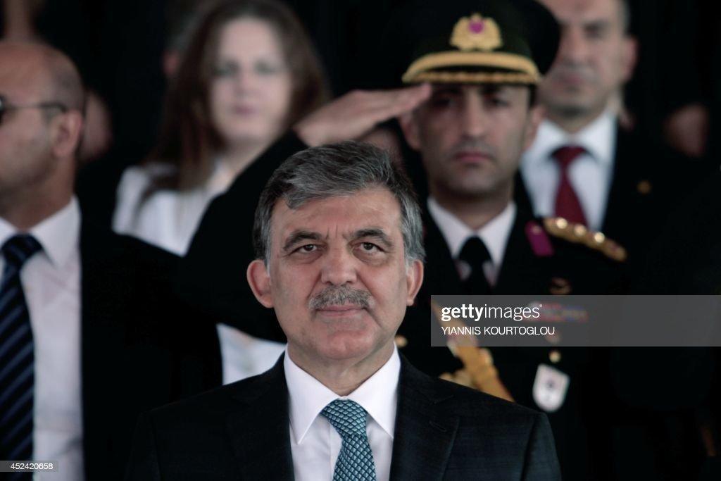 CYPRUS-TURKEY-GREECE-COUP-ANNIVERSARY : News Photo