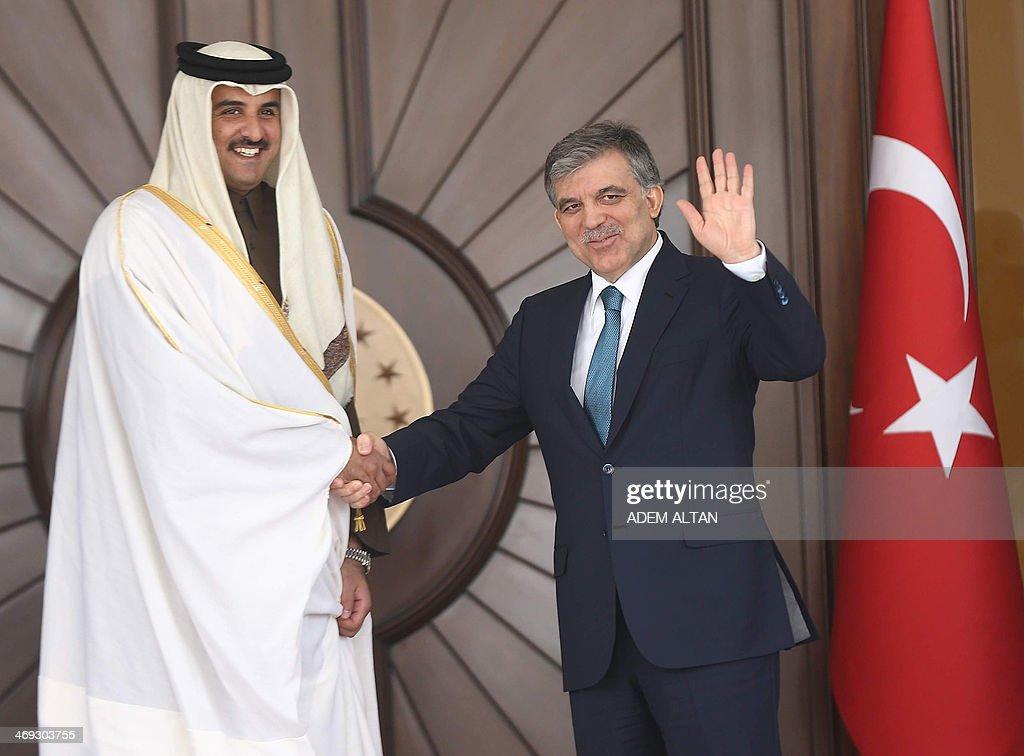TURKEY-QATAR-DIPLOMACY : News Photo