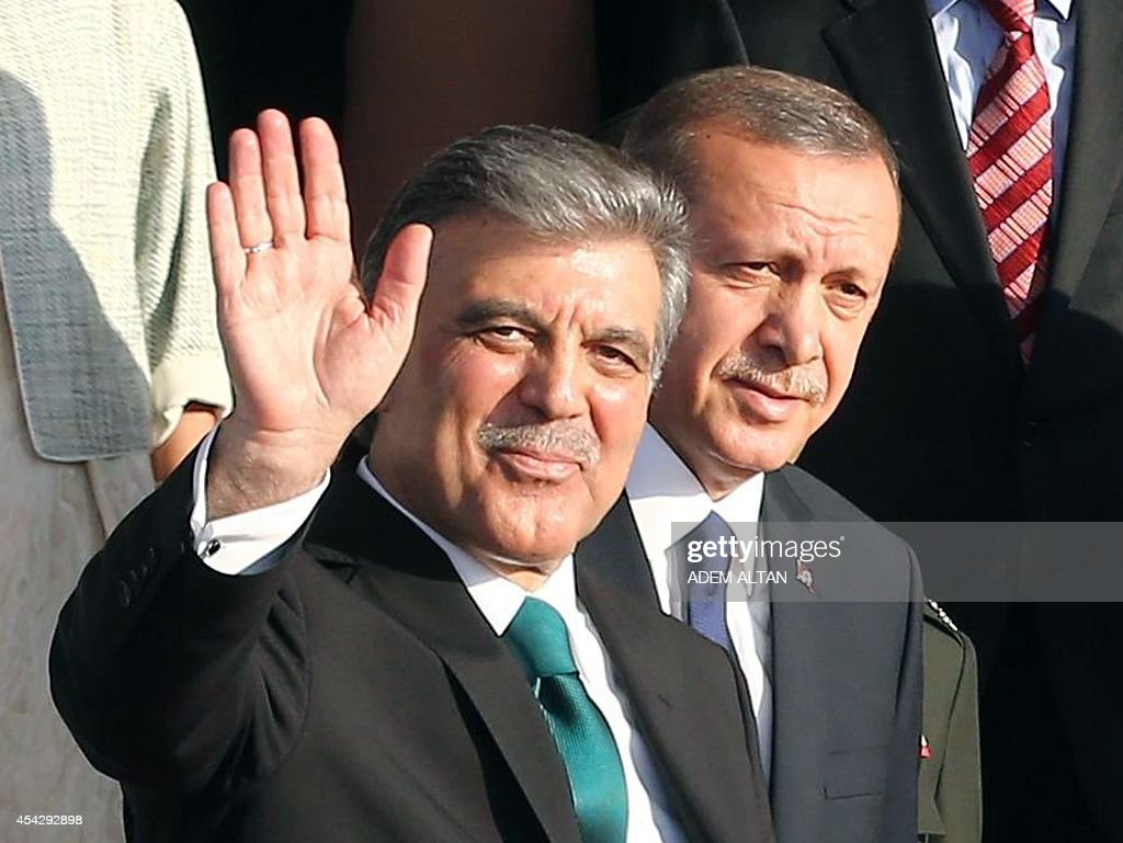 TURKEY-POLITICS-PRESIDENTIAL-HANDOVER-ERDOGAN : News Photo