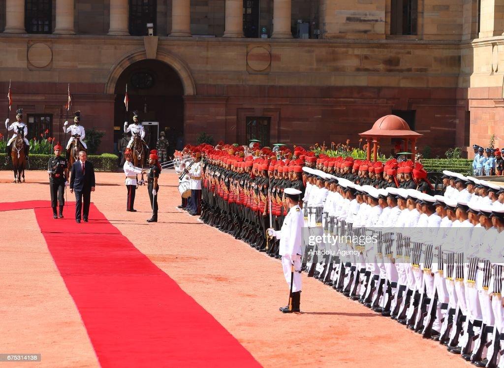 Turkish President Recep Tayyip Erdogan in India : News Photo