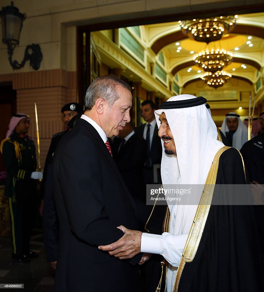 Turkish President Erdogan in Saudi Arabia : News Photo