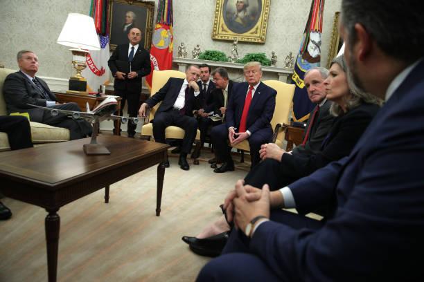 DC: GOP Senators Meet With President Trump And Turkish President Erdogan