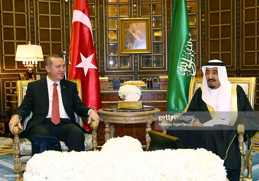 Turkish President Erdogan in Saudi Arabia : News Photo