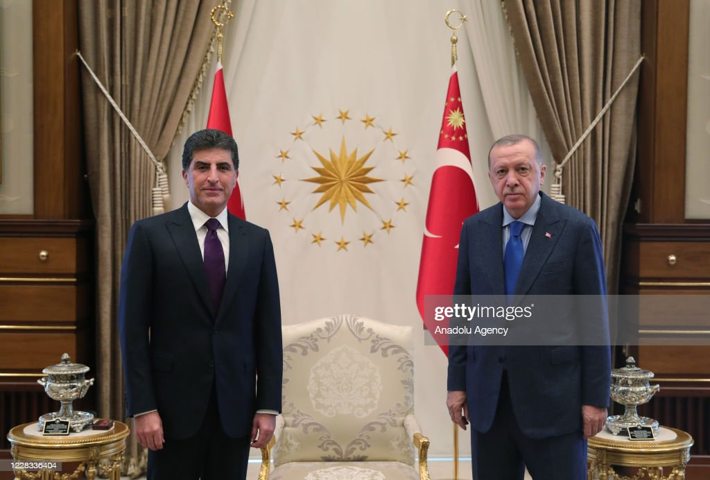 Turkish President Recep Tayyip Erdogan... : Nieuwsfoto's