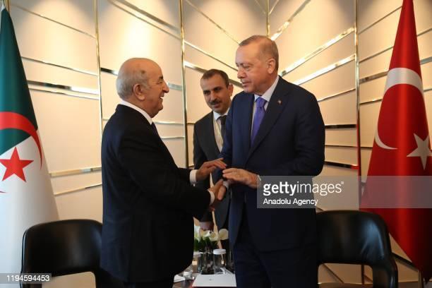 Risultati immagini per tebboune ed erdogan