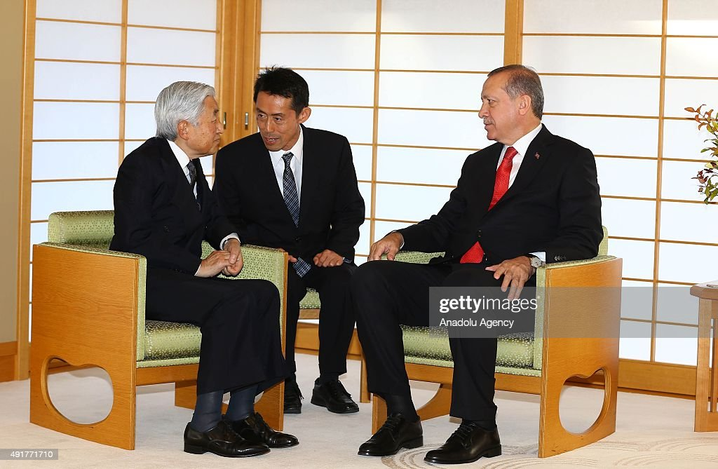 Turkish President Recep Tayyip Erdogan in Japan : Nachrichtenfoto