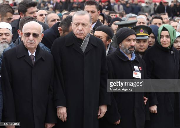 Turkish President Recep Tayyip Erdogan Speaker of the Grand National Assembly of Turkey Ismail Kahraman Turkish Minister of Family and Social...