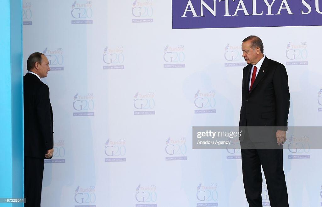 G20 Turkey Leaders Summit - Welcoming Ceremony : News Photo