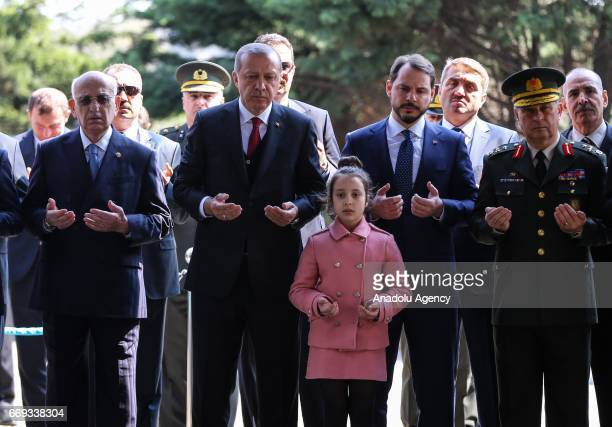 Turkish President Recep Tayyip Erdogan, Turkish Minister of Energy and Natural Resources, Berat Albayrak, Turkish Presidential spokesman Ibrahim...