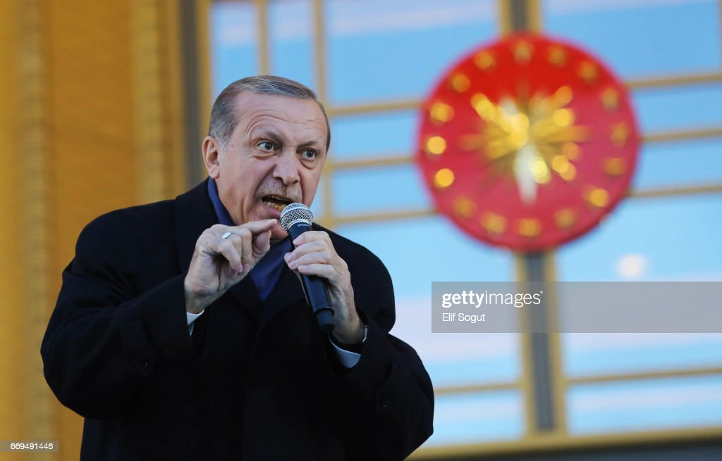 Erdogan Holds Victory Speech In Ankara
