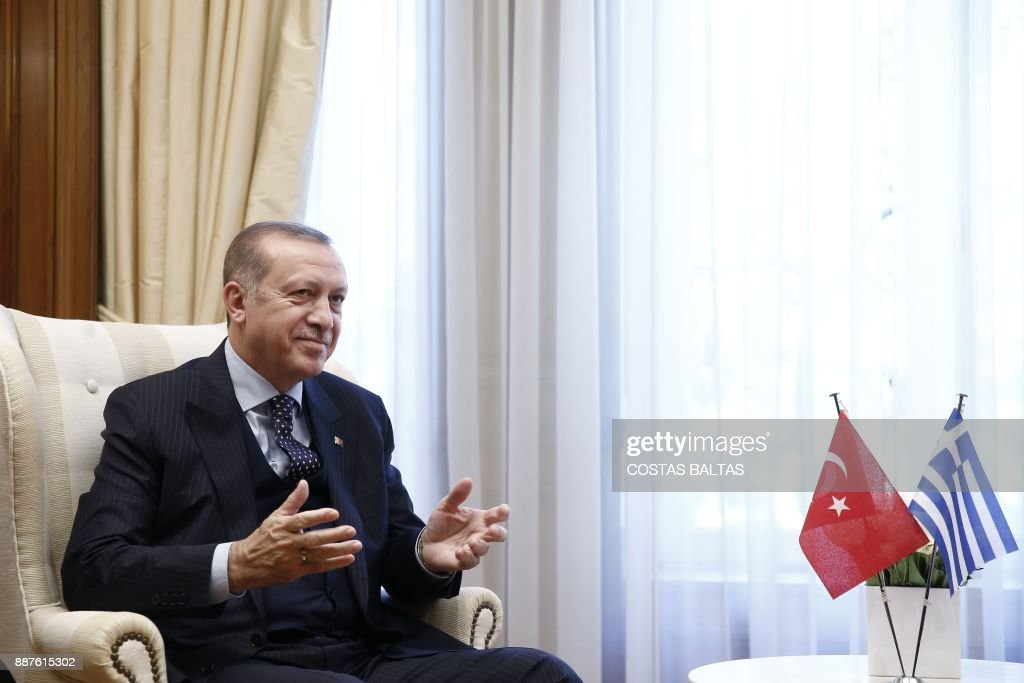 Turkish President Recep Tayyip Erdogan on official visit to Greece