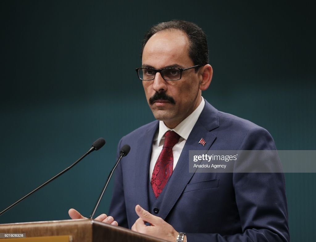 Turkish Presidential spokesman Ibrahim Kalin : News Photo