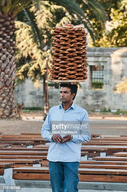 CONTENT] Turkish pretzel seller Istanbul Turkey