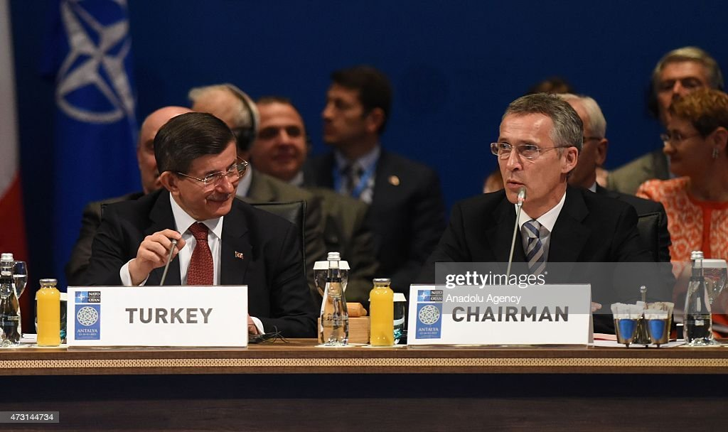 NATO Foreign Ministers meeting in Turkey : News Photo