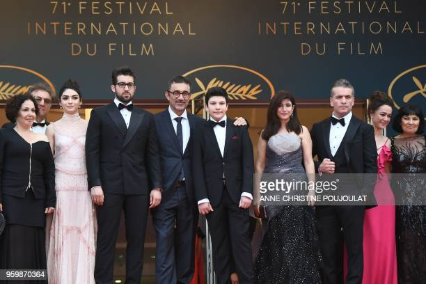 Turkish producer Zeynep Atakan a guest TurkishCypriot actress Hazar Erguclu Turkish actor Aydin Dogu Demirkol Turkish director Nuri Bilge Ceylan his...