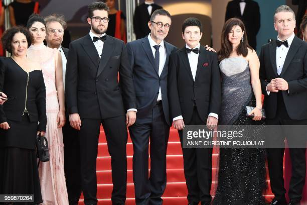 Turkish producer Zeynep Atakan TurkishCypriot actress Hazar Erguclu a guest Turkish actor Aydin Dogu Demirkol Turkish director Nuri Bilge Ceylan his...
