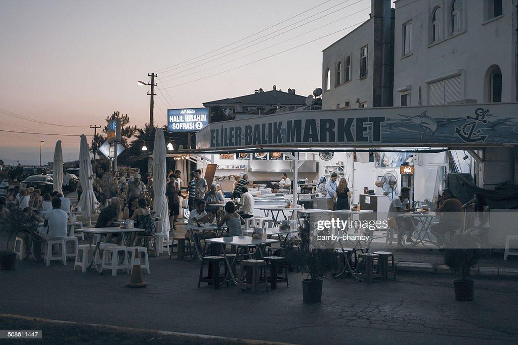 Turkish restaurant : Stock Photo