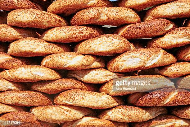 Turkish Simit Snacks