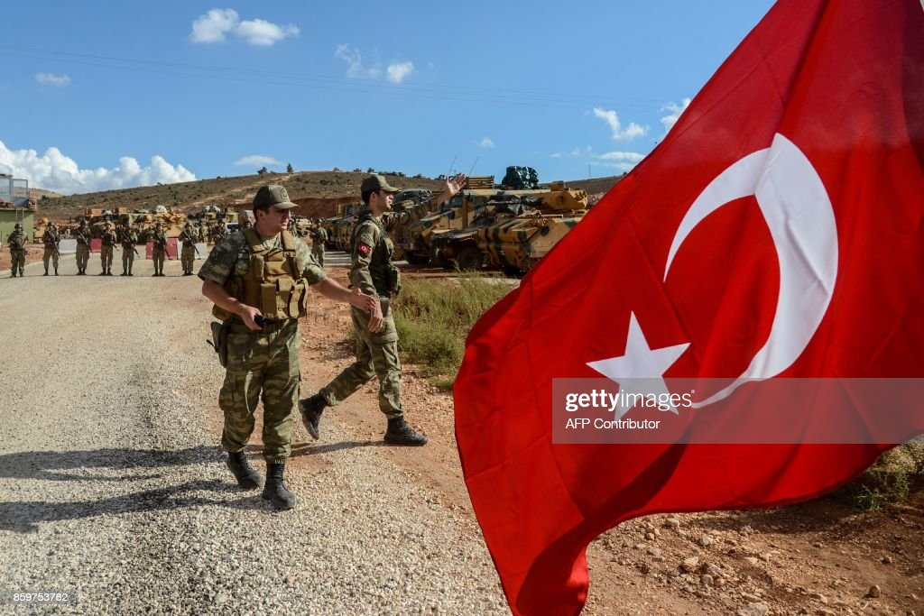 TURKEY-SYRIA-CONFLICT : News Photo