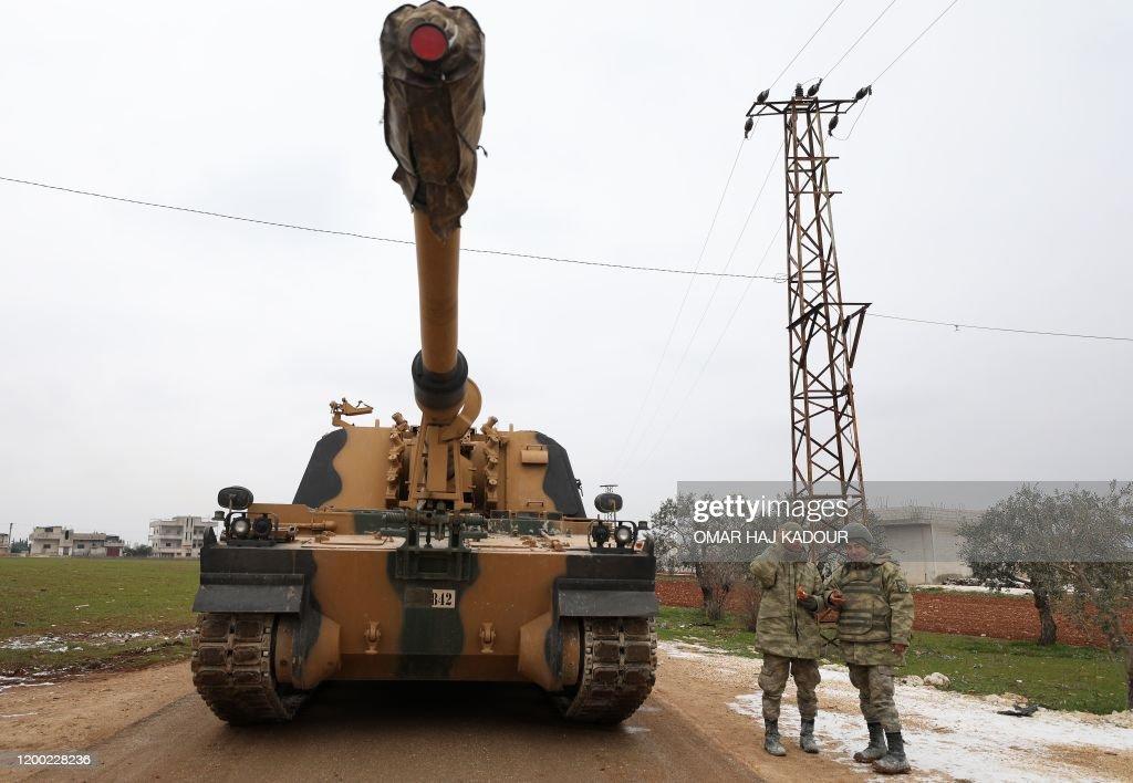 SYRIA-TURKEY-CONFLICT : News Photo