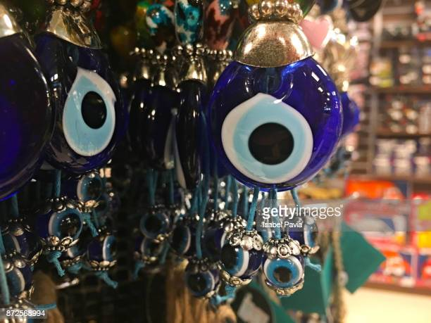 Turkish souvenirs on sale in a shop