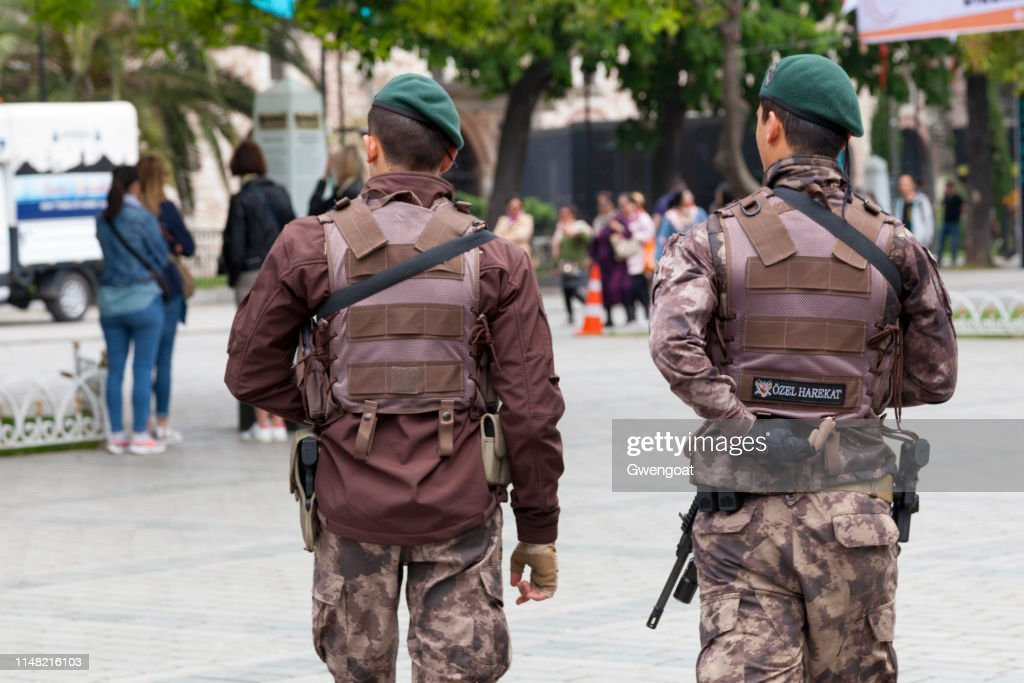Turkish special forces : Stock Photo