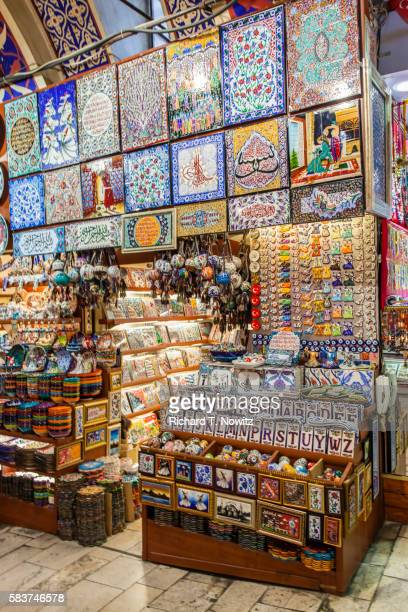 Turkish Tile and ceramic shop Grand Bazaar
