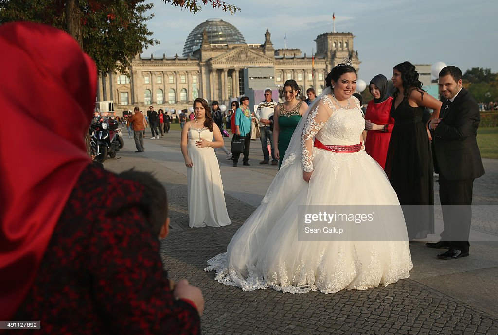 Germany Celebrates 25 Years Since Reunification News Photo