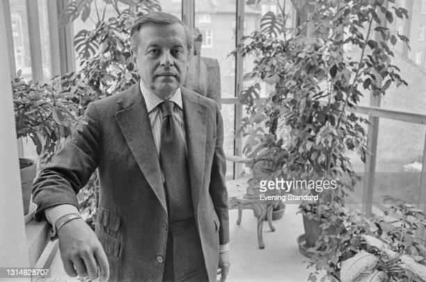 Turkish-American record producer Nesuhi Ertegun , the founder of WEA International , UK, 13th April 1974.