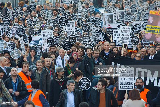 Turkish-Armenian journalist Hrant Dink commemorated seven years after his murder.
