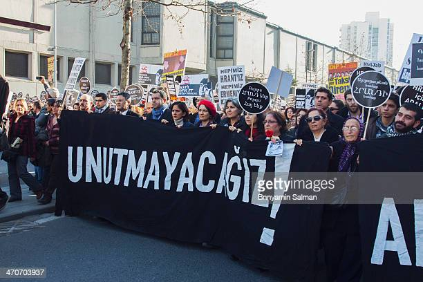 CONTENT] TurkishArmenian journalist Hrant Dink commemorated seven years after his murder
