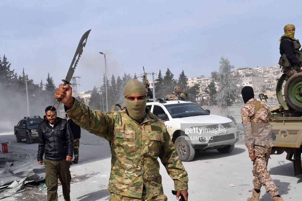 SYRIA-TURKEY-CONFLICT : Nachrichtenfoto