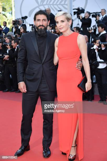 TurkishGerman actor Numan Acar arrives for the Closing Awards Ceremony of the 70th annual Cannes Film Festival in Cannes France on May 28 2017