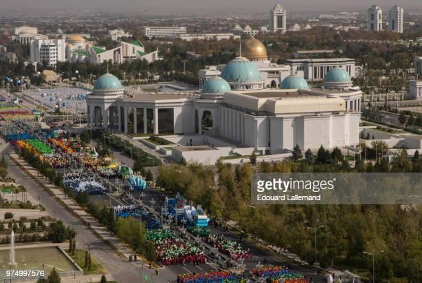 turkmenistan independance day - トルクメニスタン ストックフォトと画像