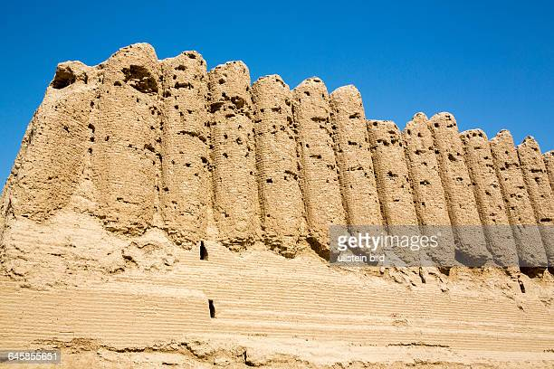 Turkmenistan, Tuerkmenistan, Chorasan, Merv, Mary, Grosse Kyzkala, Festung, bedeutendes Kultur- und Handelszentrum am Weg der Seidenstrasse, groesste...