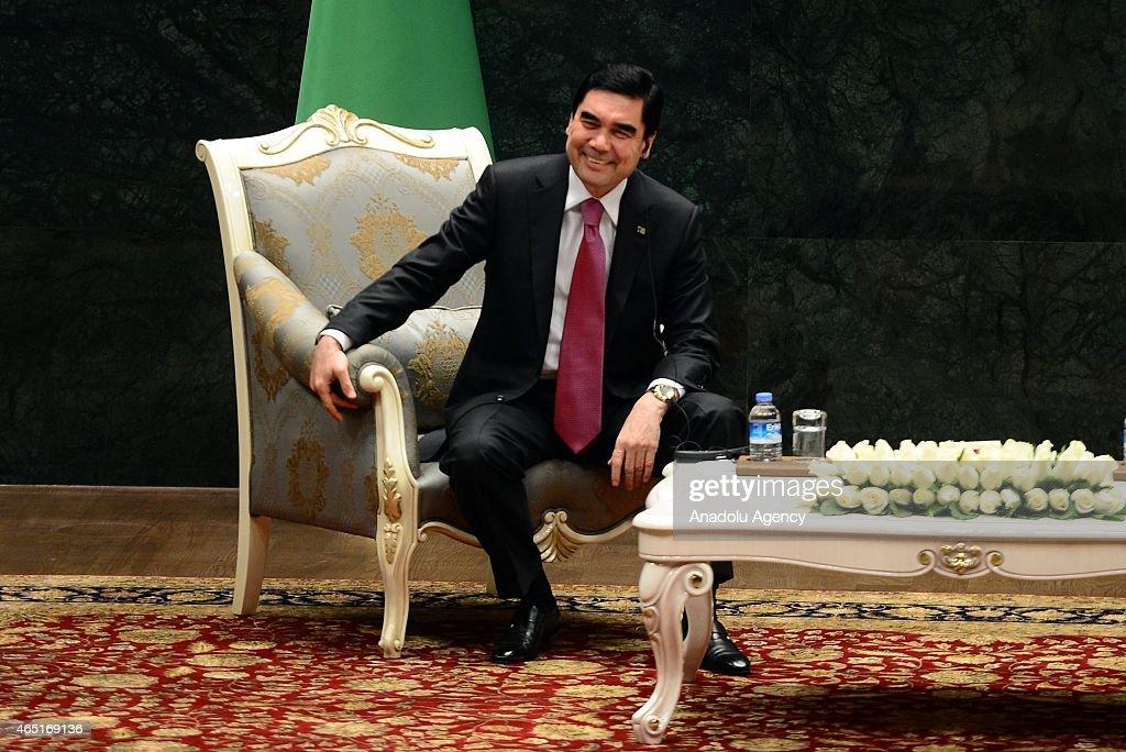 Turkmenistan's President Gurbanguly Berdimuhamedow In Ankara