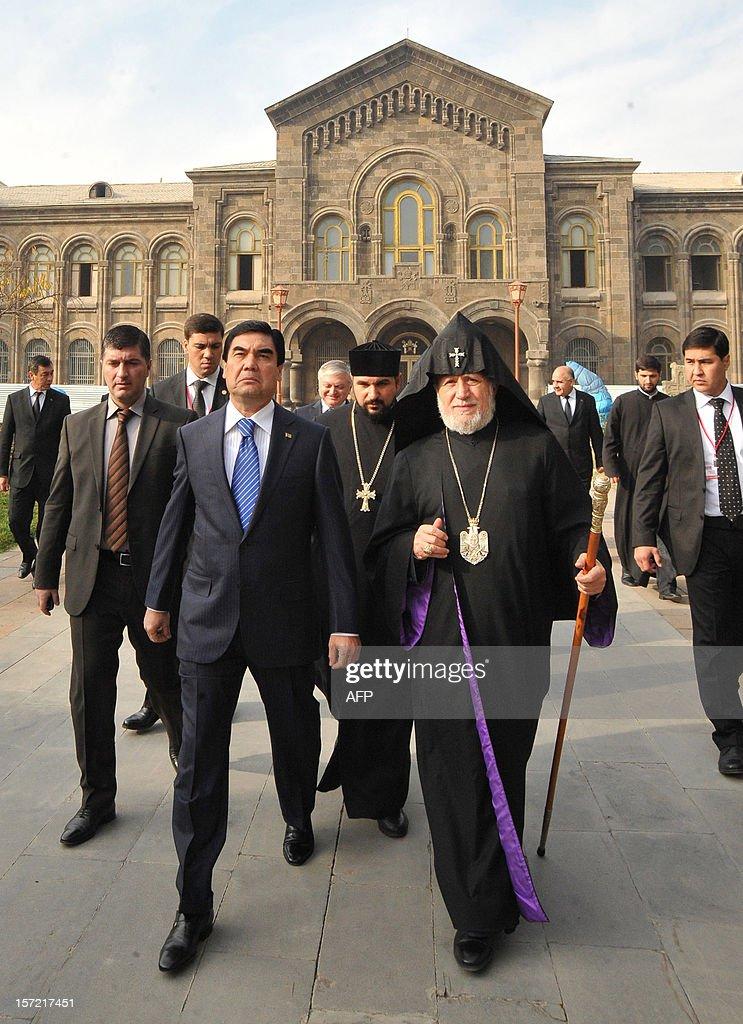 ARMENIA-TURKMENISTAN-DIPLOMACY : News Photo