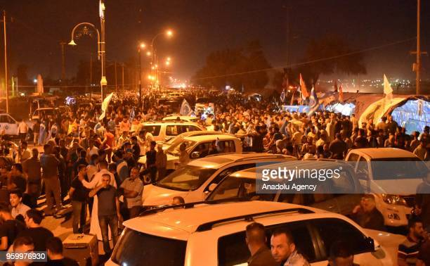 Turkmens gather for a signature campaign against Iraq's Electoral Commission within the protests over the alleged electoral fraud in general election...