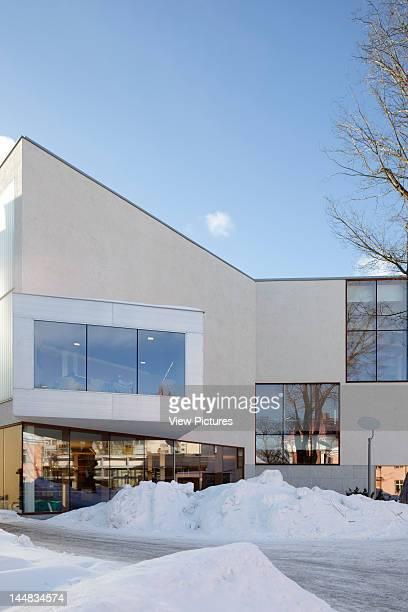 Turku City Library, Linnankatu, Turku, Greater Turku, Finland, Architect: Jkmm Architects Turku Library, Jkmm Architects, Turku Finland Courtyard In...
