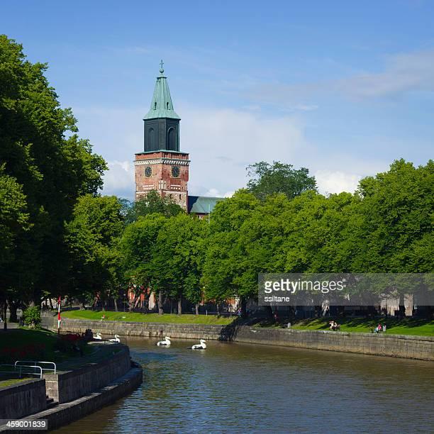 Turku, Finnland Sommer
