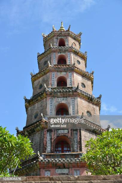 Turm der Freude und Anmut ´Thap Phuoc Duyen´, Thien-Mu-Pagode, Hue, Vietnam