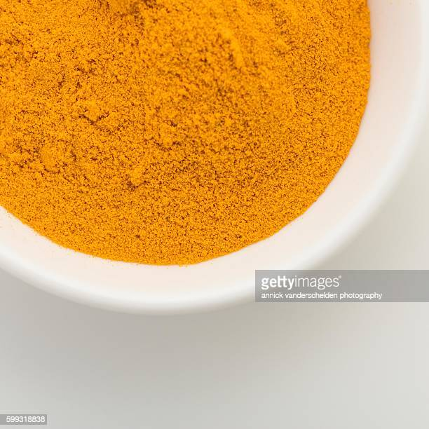 Turmeric powder.